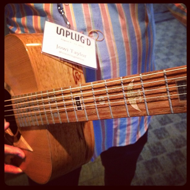 Photo:Jowi Taylor and Canada Guitar #unplugd12 By cogdogblog