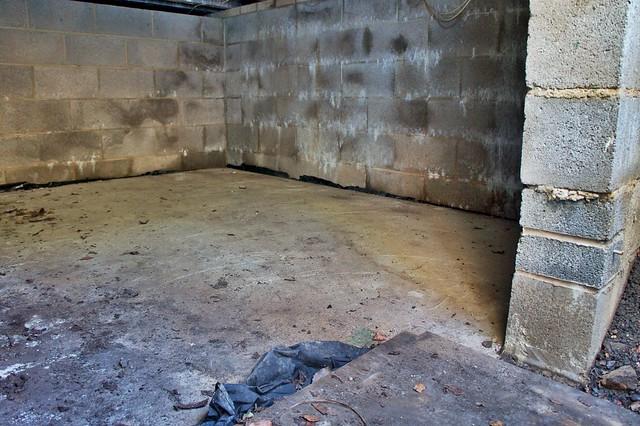 The concrete bunker