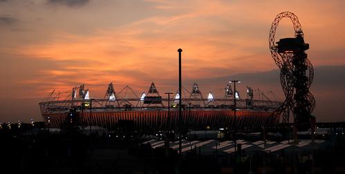 Olympic Stadium by Chris Wild