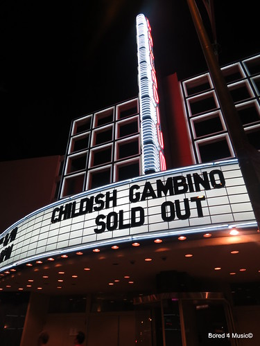 Childish Gambino @ The Hollywood Palladium [08/10/12]