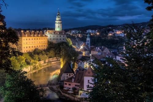 Night Falls on Český