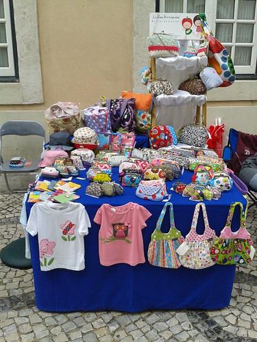 A minha banca em Aveiro by ♥Linhas Arrojadas Atelier de costura♥Sonyaxana