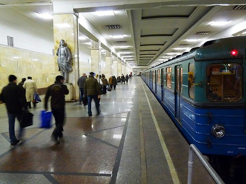 Moscow Metro (by: Alessio Damato, Wikimedia Commons)