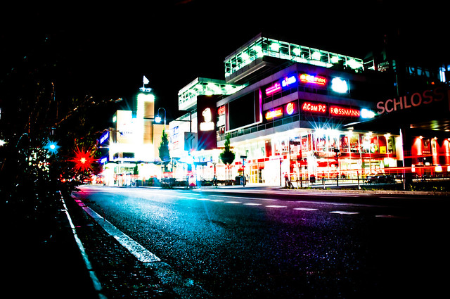 nightlife and lights
