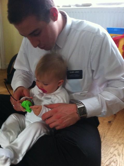 Jordan and baby