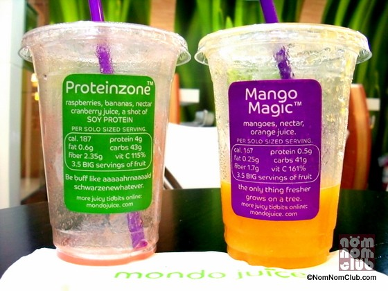 Her Proteinzone and Mango Magic!