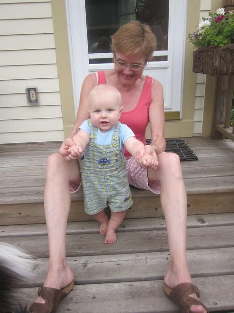Louie & Grandma