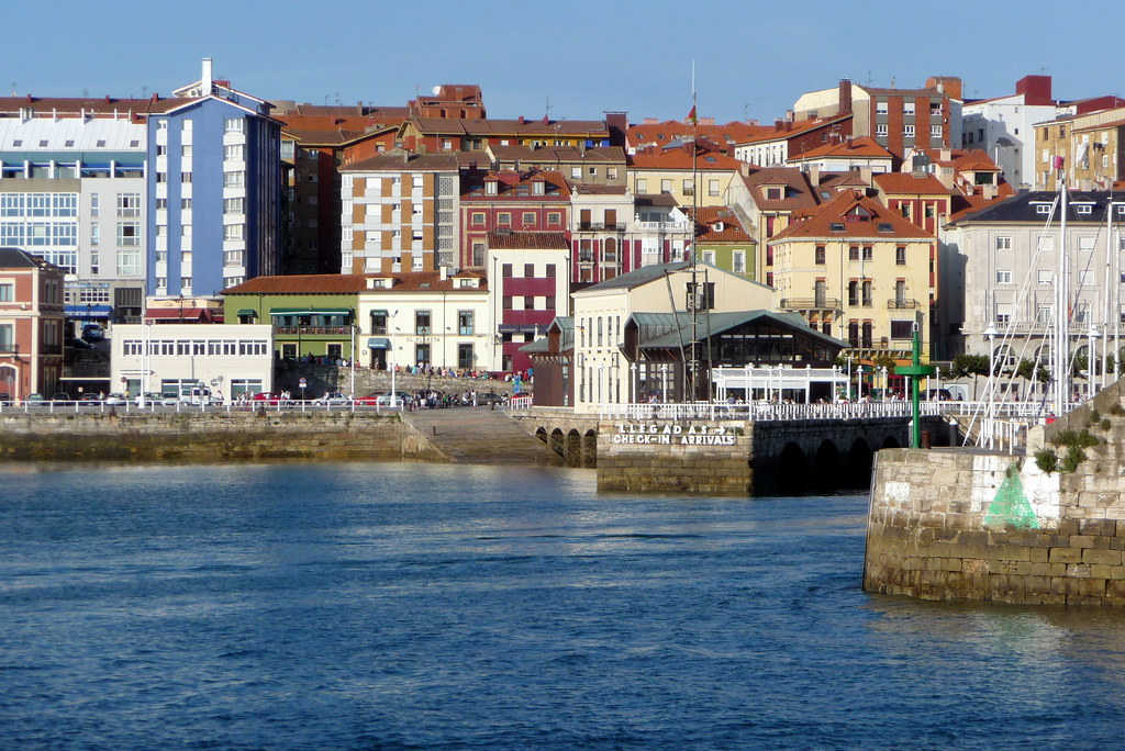 de Gijón: postales