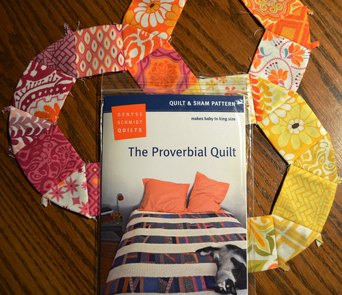 Proverbial Quilt for Krista's QAL