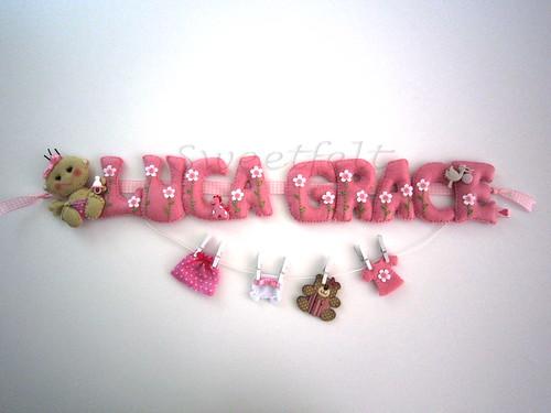 ♥♥♥ Luca Grace ... by sweetfelt \ ideias em feltro