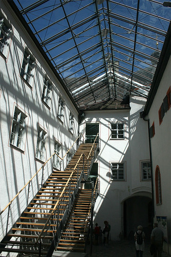 Innenhof Andechs