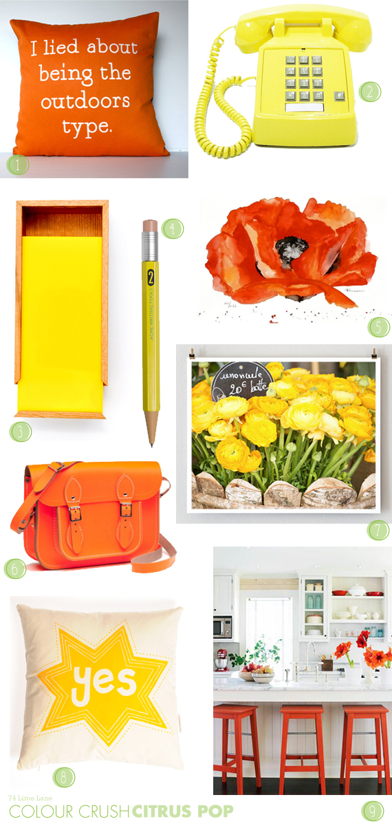 {colour crush} citrus pop