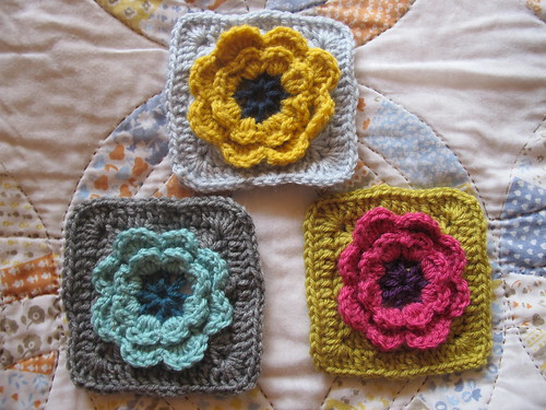 Week 9 - 3D Flower Grannies