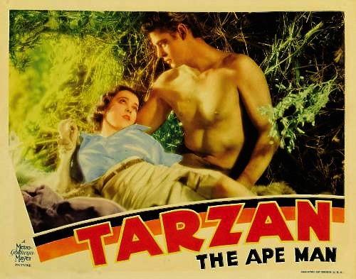 Tarzan of The Apes Movie Tarzan The Ape Man 1932 Poster