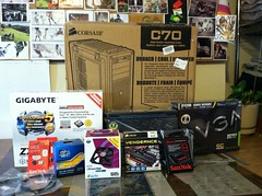 The components for my Hackintosh