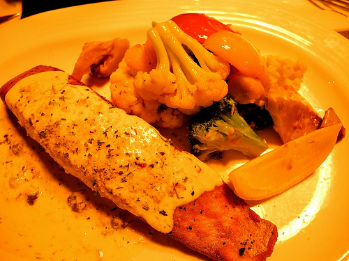 Queenie's Roast Salmon
