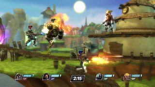 PlayStation All-Stars Battle Royale - Niveau Jak & Daxter
