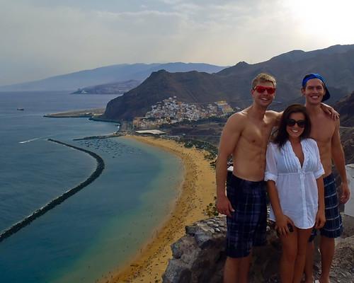 Americans on Tenerife