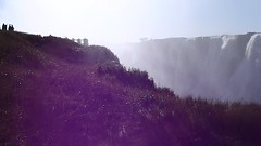 Video: Victoria Falls and Rainbow - Zambia side