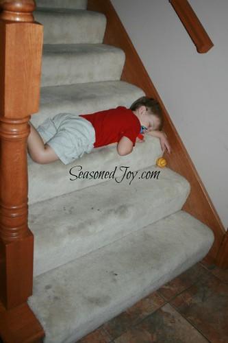 G sleeping