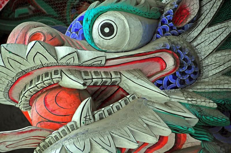Dragon -- Bongwonsa Temple -- Seoul