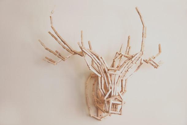 deer head front