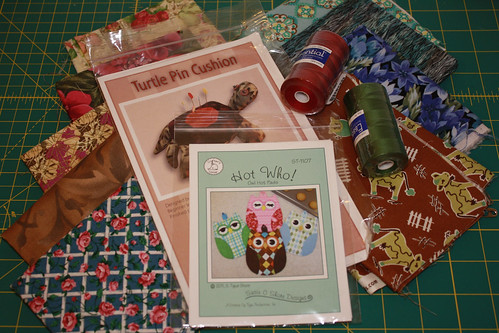 Quilt Sewing Swap Haul