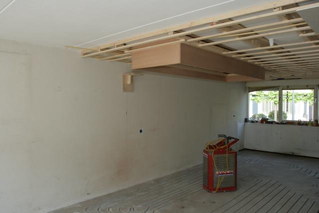 Opbouw verlaagd plafond en vloerverwarming  Flickr - Photo Sharing!