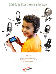 Mobile & English Language Learning Package for Califone Classroom AV Wishlist