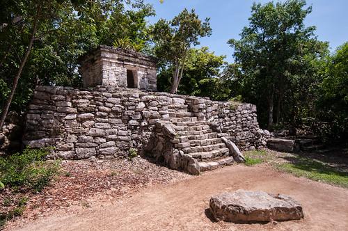 Las Ruinas Mayas de Xcaret