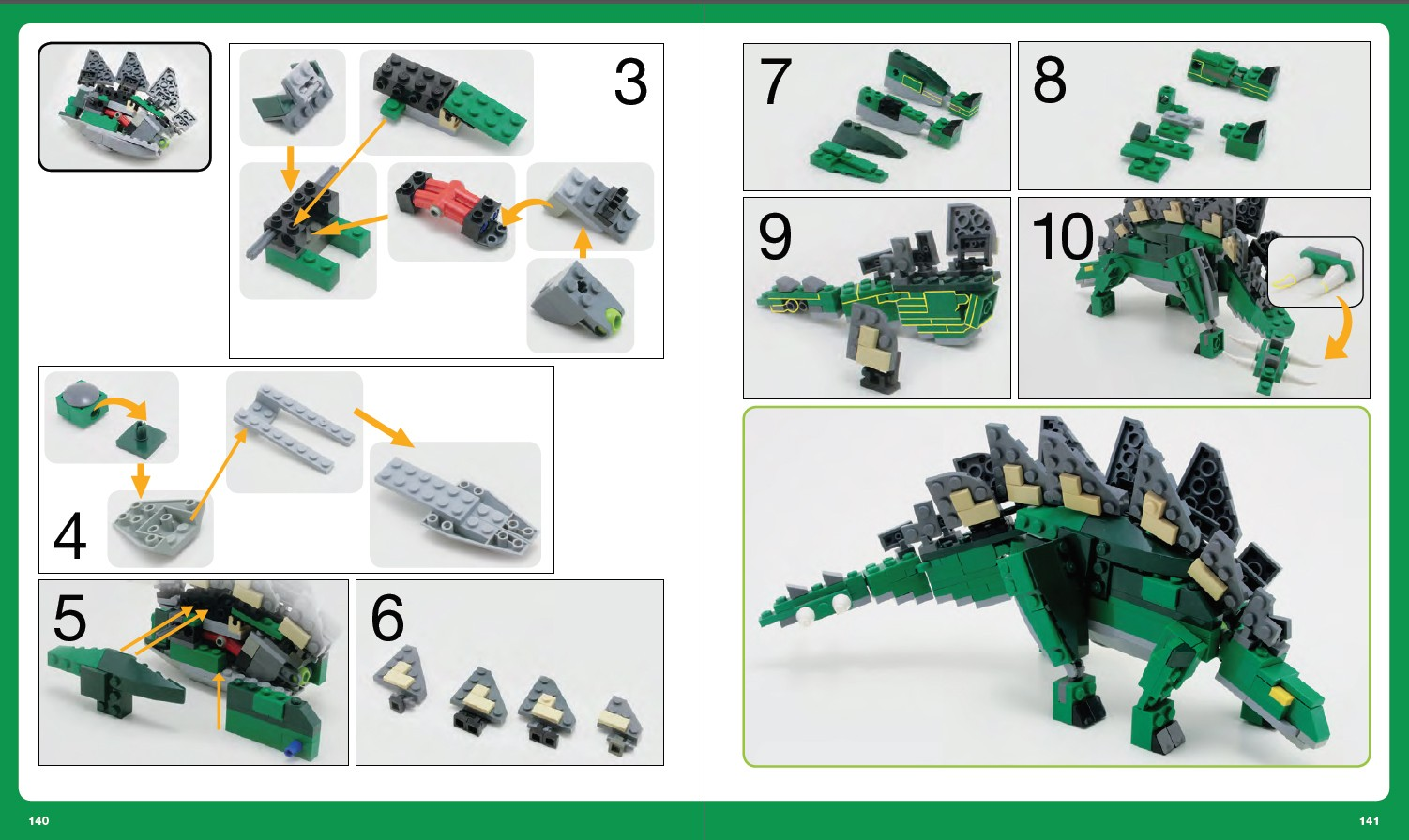 Как сделать лего динозавров из лего
