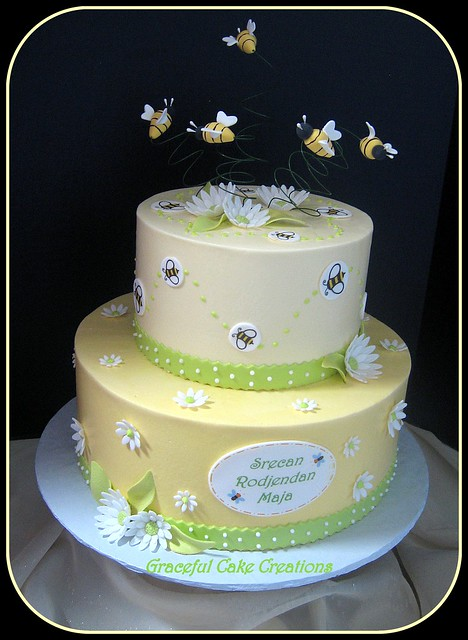 Bumble Bee Birthday Cake Pictures