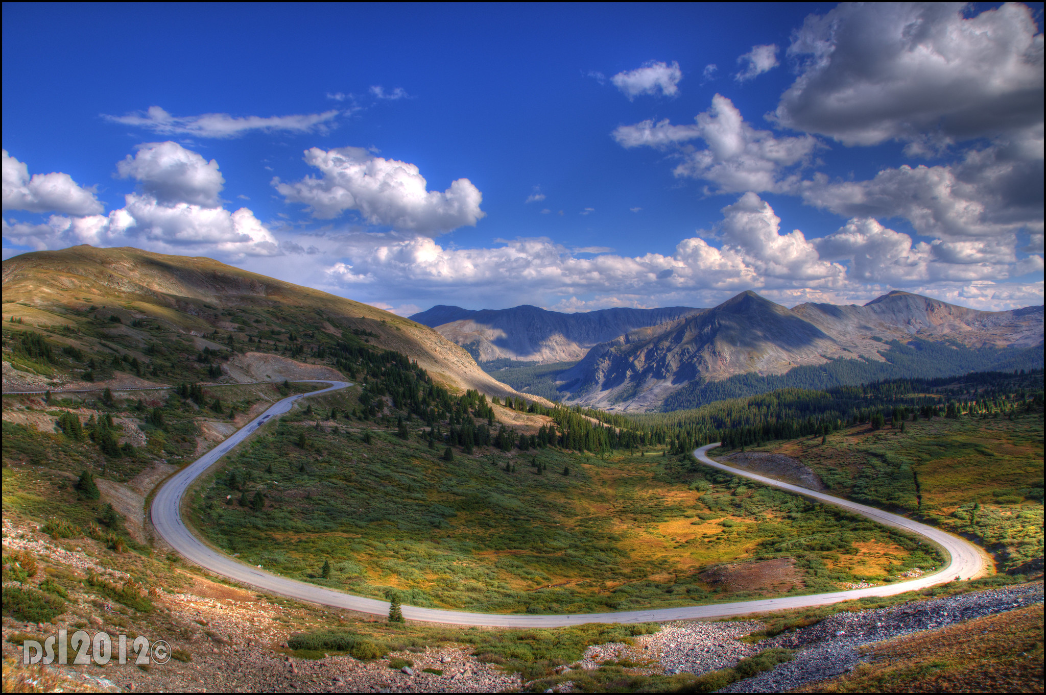 Switchback - Cottonwood Pass summit, Colorado