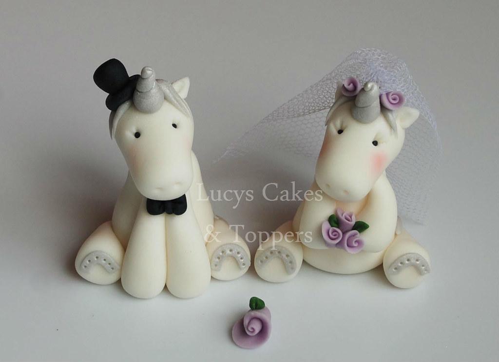 Unicorn Wedding Cake Topper Unicorn And Wedding Cake Toppe