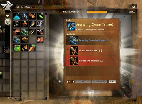 Guild Wars 2 Artificer Crafting Guide Recipes Inscriptions And