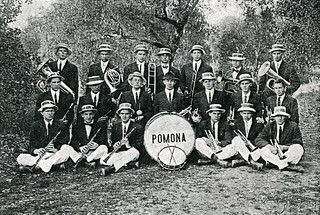The first Pomona College Band in 1910