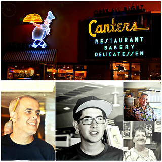 The nice people of Canter's Deli ~ Assignment Shoot for KCET Food