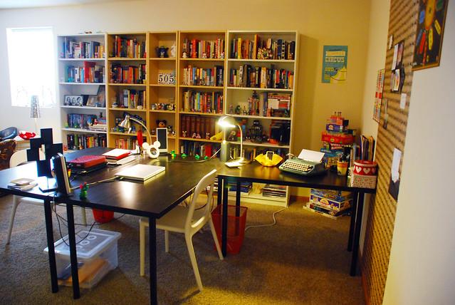 desks & shelves