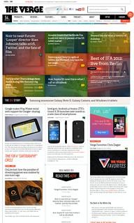 Samsung Galaxy S3 Desktop Version of Website