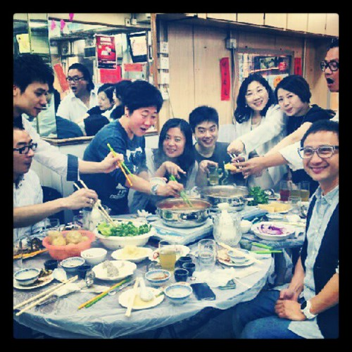 多謝大家!食唔完的生日飯,期待red project 的拍攝!