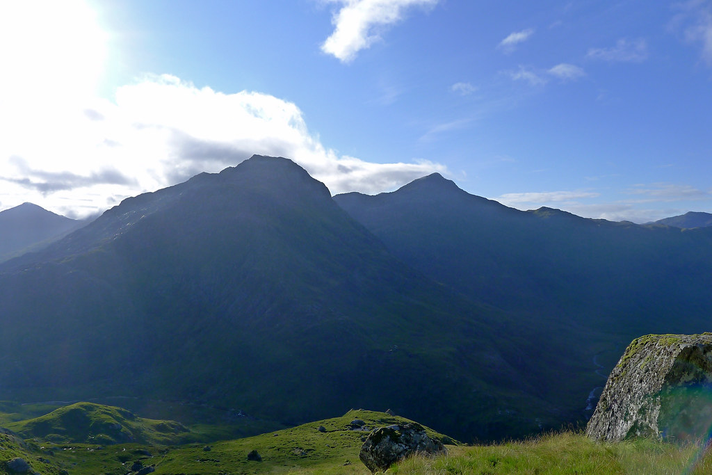 Ben Aden and Sgurr na Ciche
