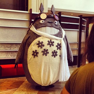 Steampunk Totoro? Why not!