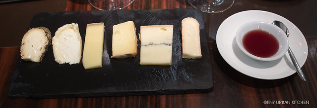 Selection of French and British Cheese