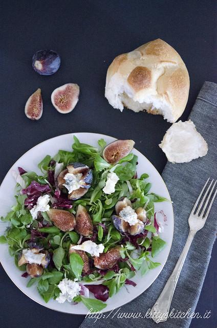 insalata fichi e gorgonzola