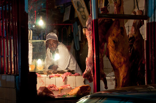 Butcher in Nairobi, Kenya