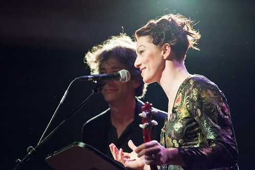 An evening with Neil Gaiman and Amanda Palmer