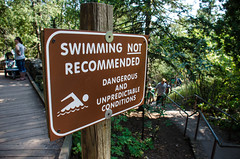 Don't swim