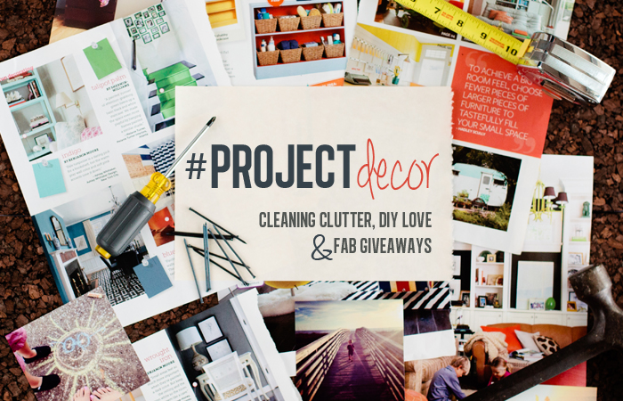 #PROJECTdecor header