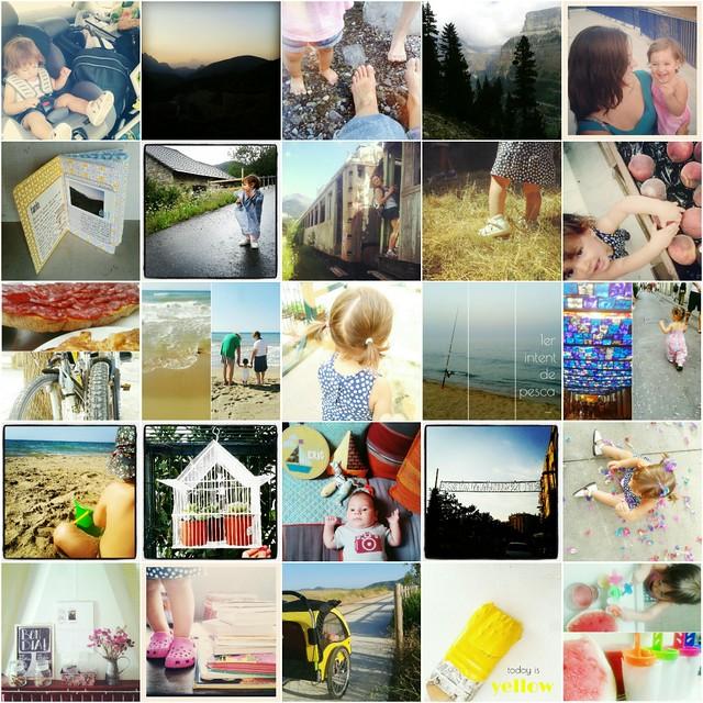 Resumen Agosto 2012 en instagram
