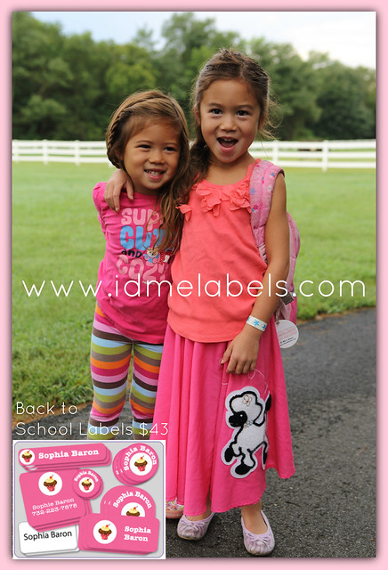 Kid's Back To School Labels  Free First-Class Shipping On